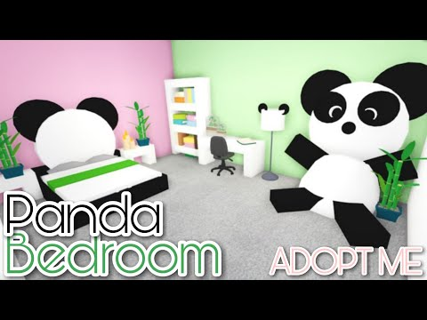 Evimize Youtuber Odasi Yaptik Panda Ile Roblox Meepcity Youtube Panda Bedroom Adopt Me Speed Build Youtube