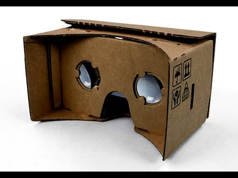homemade google cardboard vr youtube. Black Bedroom Furniture Sets. Home Design Ideas