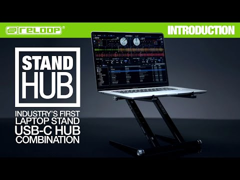 Reloop Stand Hub - Advanced Laptop Stand with USB-C PD-Hub (Introduction)