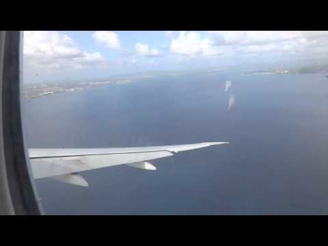 Atterrissage Fort de France Air France AF 3552