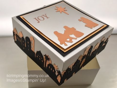Night in Bethlehem elegant gift box