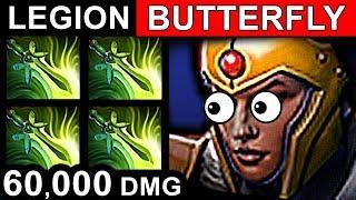 BUTTERFLY LEGION COMMANDER DOTA 2 PATCH 7.06 NEW META PRO GAMEPLAY