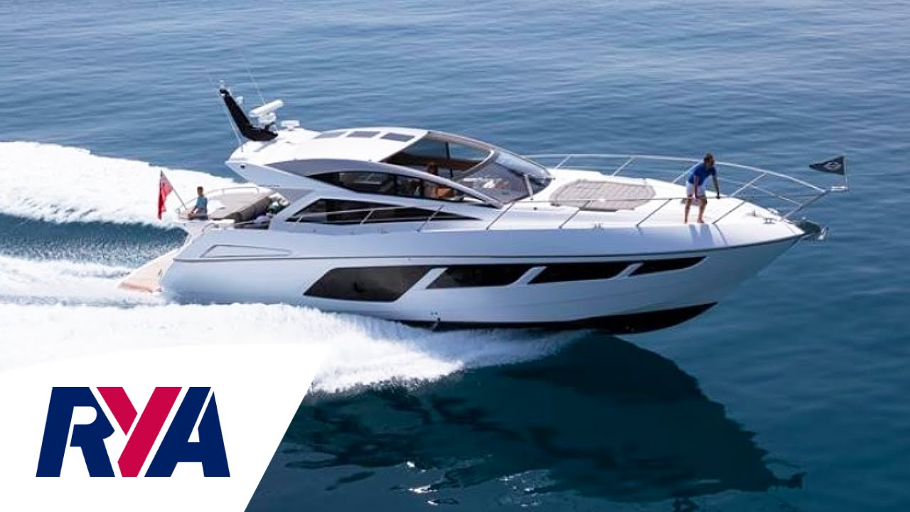 Sunseeker Predator 57 Luxury Yacht Boat Tour Londononwater Boat Show