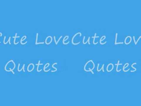 cute love quotes youtube