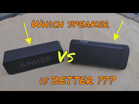 Anker Soundcore  Vs Oontz Angle 3... Which Bluetooth Speaker Is Better