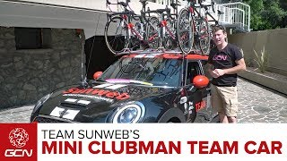 Team Sunweb Mini Clubman Cooper S Team Car Tour
