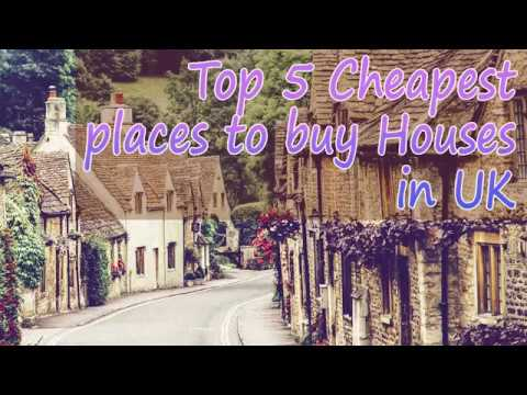 Cheapest Places to buy Houses in UKTop 5