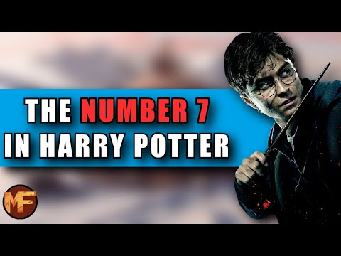 The Number 7 In Harry Potter