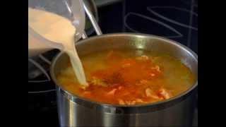 Женский рыбный суп — Уха по-фински