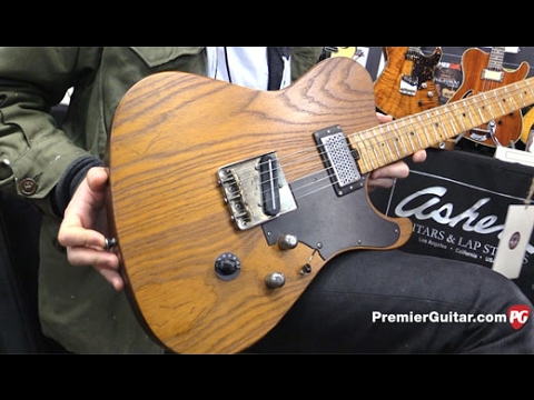 NAMM '17 - Asher Guitars Vintage Series T Deluxe and Lap Steel Demos