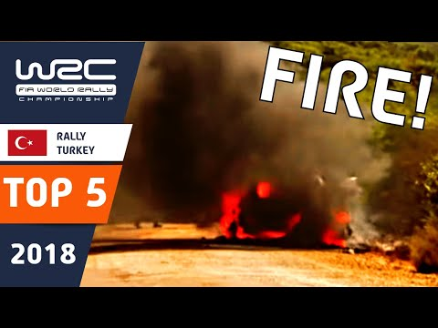 WRC - Rally Turkey 2018: TOP 5 Moments
