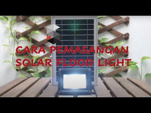 Lampu Solar Cara Pemasangan Mudah Solarmuda Youtube