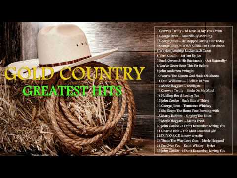 Gold Country Music Greatest Hits - Best Country Classic Of All Time -  Old Country Music Ever!