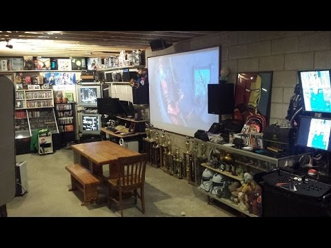 Garage Pool Table Room