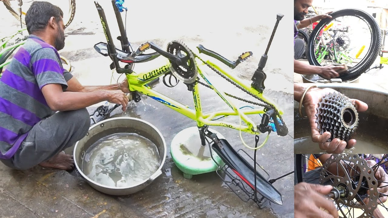 How to Service your BICYCLE Yourself   DIY Bike Maintenance   Hercules Roadeo  A75 Bicycle Service.