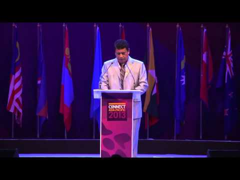H.E. Lord Tu'ivakano Prime Minister, Tonga (Kingdom of) - speech at Connect Asia-Pacific 2013 Summit