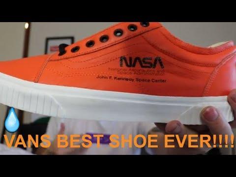 vans x nasa orange firecracker space voyager on feet review - YouTube 9bd3835e2