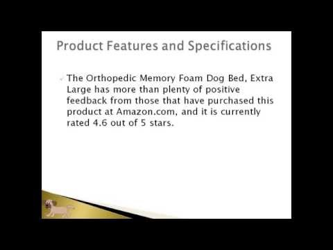 watch-the-orthopedic-memory-foam-dog-bed-review-article-video!-|-buy-it-on-sale-now-in-2016!