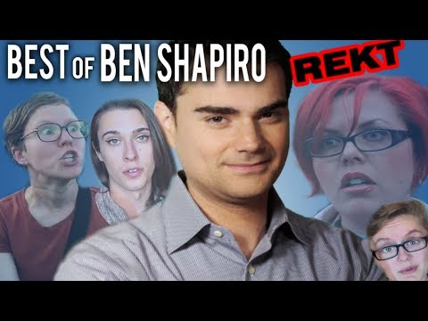 (REKT) Best of Ben Shapiro! Ben Shapiro TRIGGERS Feminists, Liberals, SJW, Snowflakes! Mic Drop 2017