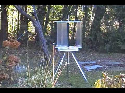 Superbe Voltek Wind Turbine In Backyard