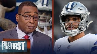 Dak needs to be more efficient as a passer, Zeke's holdout - Cris Carter | NFL | FIRST THINGS FIRST