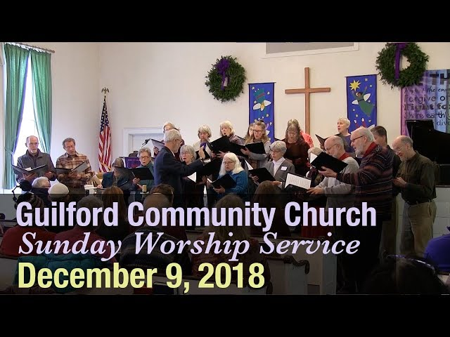 Guilford Church Service - 12/9/18