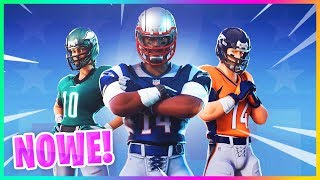 "NEW ""NFL"" SKINS REVEALED! NEW STARTER PACK TODAY.. -Fortnite Battle Royale"