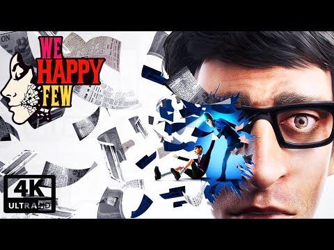 We Happy Few: Arthur's Story All Cutscenes (Game Movie) 4K UHD 60FPS