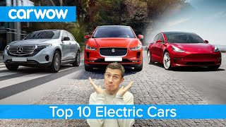 Tesla Model 3, Mercedes EQC, Jaguar I-Pace - the best electric cars named!