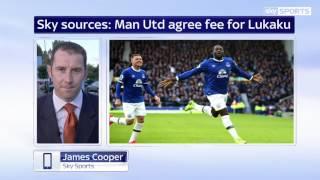 EXCLUSIVE: Breaking News Man United have £75m bid accepted by Everton for striker Romelu Lukaku