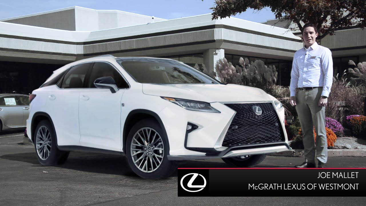 2016 lexus rx 350 for sale near westmont il mcgrath lexus youtube. Black Bedroom Furniture Sets. Home Design Ideas