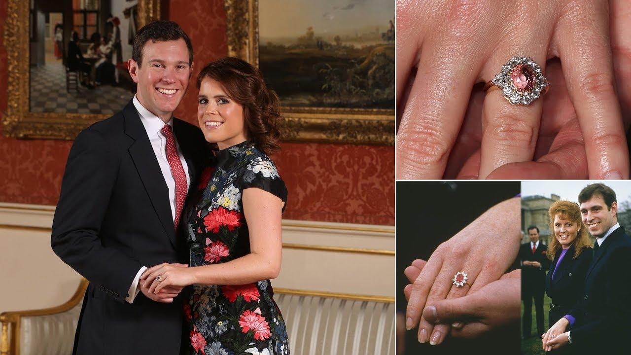 Princess Eugenie's engagement ring ile ilgili görsel sonucu