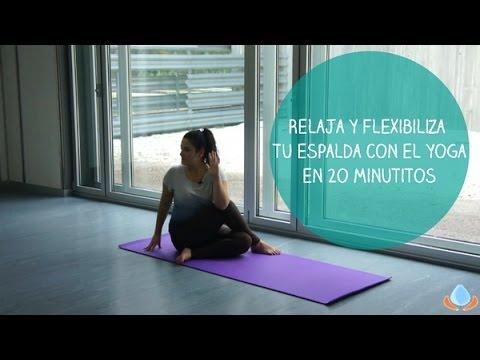 Clase de Yoga para estirar y relajar tu espalda