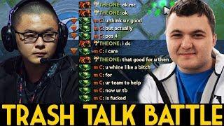 MidOne [Dragon Knight] VS Mind_ControL [Viper] Dota 2 | Trash Talk Battle