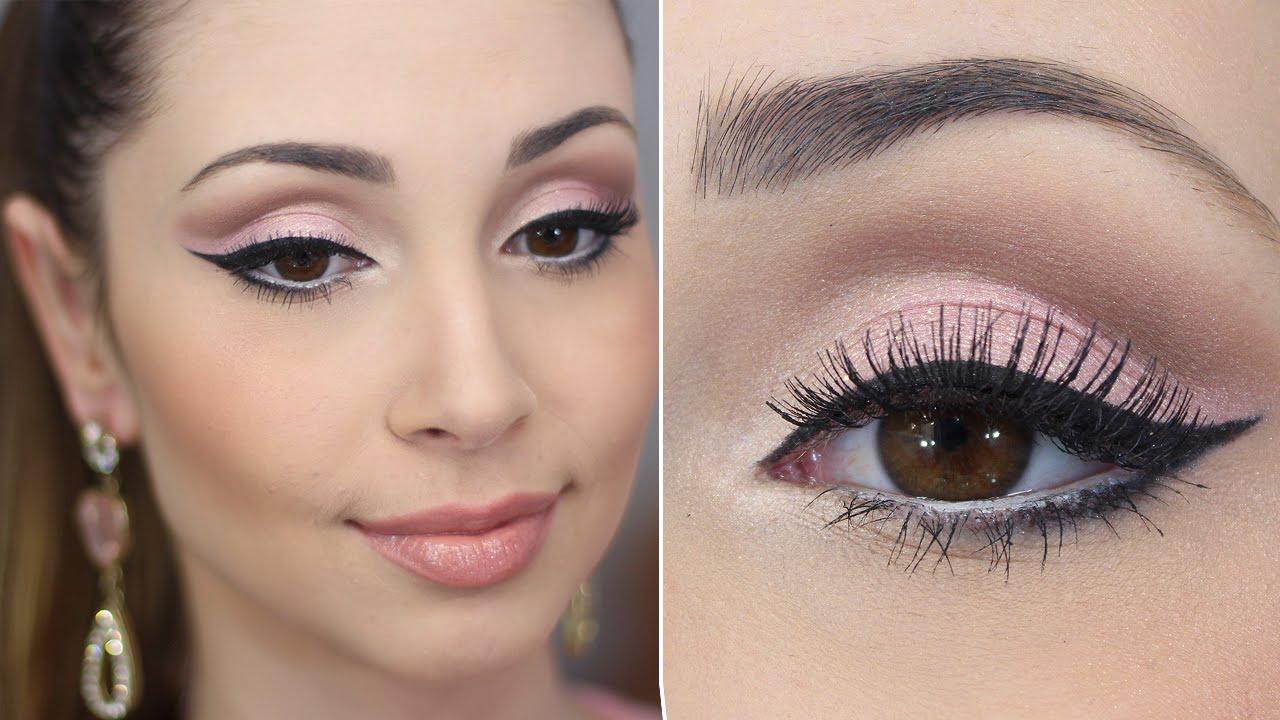 Maquiagem Para Festa Rosa claro