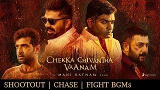 Chekka Chivantha Vaanam BGMs | Shootout, Chase & Fight BGMs | A.R.Rahman | #CCV #Nawab