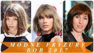 Modne fryzury bob 2017