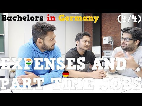 Expenses and Part Time Jobs: Bachelors in Germany (4/4)