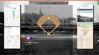 1906 Chicago Cubs vs 1909 Pittsburgh Pirates PC Replay Baseball