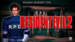 TREMENDO JUEGAZO: RESIDENT EVIL 2 ( CLÁSICO PSX ) EN VIVO
