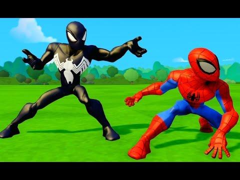 Человек паук против Венома. Часть 3. Человек-паук 3: Враг в отражении. 2007.