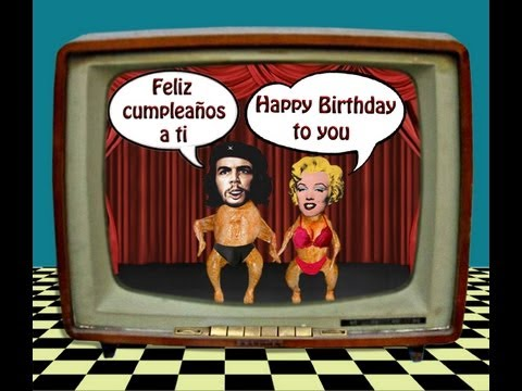 Happy Birthday Funny Feliz Cumpleaños Divertido Herzlichen