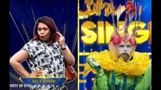 Bawain 'Teman Tapi Mesra' Dibalik Topeng Kembang Desa, Elly Sugigi?   The Mask Singer S2 Eps.1 (1/6)