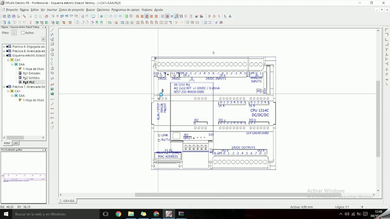 Siemens Plc6es7212 1ae40 0xb0 Wiring Diagram Ac Motor Control Circuits Plcdoc Online Shop Eplan P8 Como Insertar Una Macro De Youtube