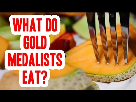 What Do Gold Medalists Eat?