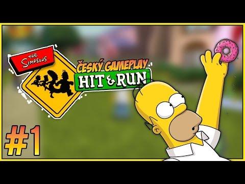 Český GamePlay | Simpsons: Hit and Run | Part 1 | Homer | HD - 720p