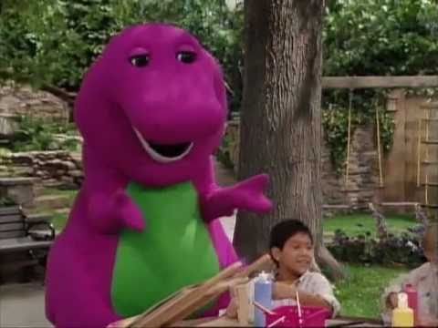 Barney Color Mixing Song Youtube