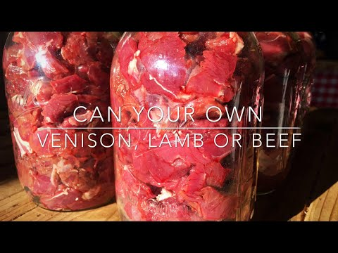 Canning Meat (Super Easy Raw Pack) : Homesteading Family