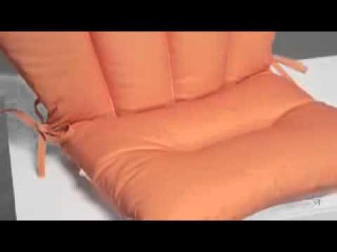Valencia Barrel Back Chair Cushion 18 X 30 In Youtube