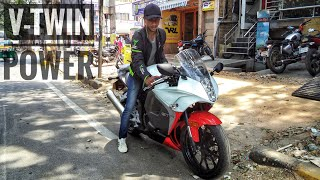 HYOSUNG GT 250R : Ride review : Vtwin power